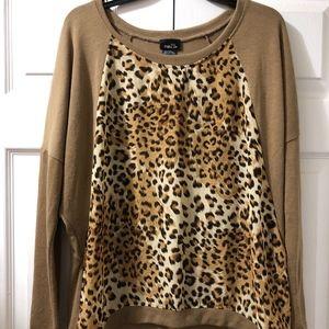 Rue21, Cheetah Print Long-Sleeve